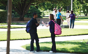 Students on Campus small